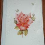 3D-kort med blomma