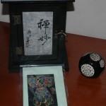 3D-kort med kimono