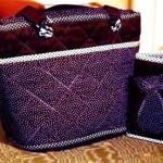 Väska med matchande plånbok